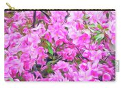 Romantic Skies Apple Blossoms  Carry-all Pouch