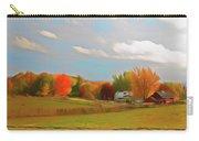 Romantic Skies Autumn Farm Carry-all Pouch