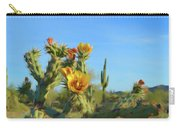 Romantic Skies Desert Bloom Carry-all Pouch