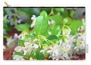 Romantic Skies Jasmine In Bloom Carry-all Pouch