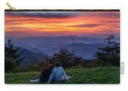 Romantic Smoky Mountain Sunset Carry-all Pouch