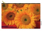 Romantic Sunflowers Carry-all Pouch