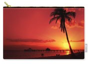 Romantic Sunset Carry-all Pouch by Melanie Viola