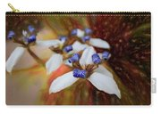 Romantic Textured Island Lilies  Carry-all Pouch
