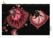 Romantically Jewelled Abstract Carry-all Pouch