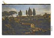 Rome A Terraced Garden Probably That Of The Villa Silvestri Rivaldi  Carry-all Pouch