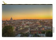 Rome At Sunset Carry-all Pouch