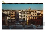 Rome Spanish Steps View Carry-all Pouch