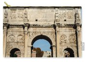 Rome - The Arch Of Constantine 3 Carry-all Pouch