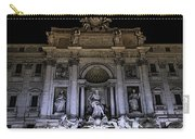 Rome, Trevi Fountain At Night Carry-all Pouch