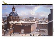 Rome Under The Snow Carry-all Pouch