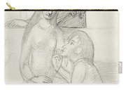 Romeo And Juliet, With Friar Lawrence Carry-all Pouch