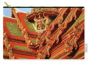 Roof Of Buddhist Temple In Thailand Carry-all Pouch