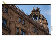 Rooftop Chariots And Horses - The Hippodrome Casino Leicester Square London U K Carry-all Pouch