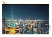 Rooftop Perspective Of Downtown Dubai Carry-all Pouch