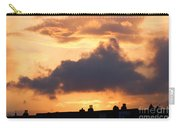 Rooftop Sunset 2 Carry-all Pouch