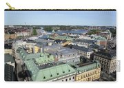 Rooftops Of Stockholm Carry-all Pouch