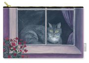Room With A View Carry-all Pouch by Kathryn Riley Parker