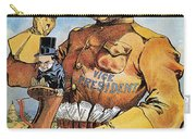 Roosevelt/mckinley Cartoon Carry-all Pouch