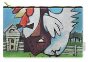 Rooster And Hen House Carry-all Pouch