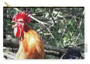 Rooster Crowing Carry-all Pouch