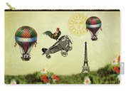 Rooster Flying High Carry-all Pouch