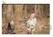Rooster In The Woods. Carry-all Pouch