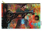 Rooster On The Door Whimsy Carry-all Pouch