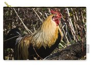 Rooster Protecting Hen Carry-all Pouch