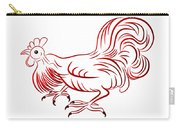 Rooster - Sign Of Chinese New Year Carry-all Pouch