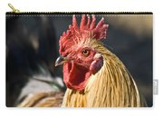 Rooster Up Close And Personal Carry-all Pouch