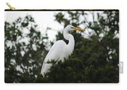 Roosting Egret Carry-all Pouch