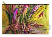 Roots In Pink Carry-all Pouch
