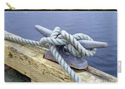 Rope And Bollard Carry-all Pouch