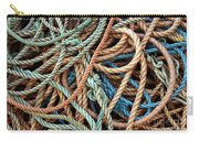 Rope Background Carry-all Pouch by Carlos Caetano