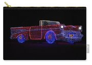 Rope Light Art 1957 Chevy Carry-all Pouch