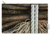 Ropes And Fishing Nets Carry-all Pouch by Carol Leigh