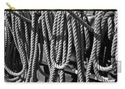 Ropes For The Rigging Bw 1 Carry-all Pouch
