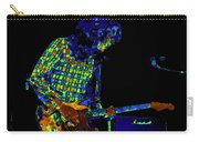 Saturated Blues Rock With Text Carry-all Pouch