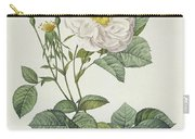 Rosa Alba Foliacea Carry-all Pouch by Pierre Joseph Redoute