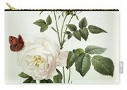 Rosa Bengale The Hymenes Carry-all Pouch by Pierre Joseph Redoute