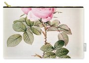 Rosa Bifera Officinalis Carry-all Pouch by Pierre Joseph Redoute