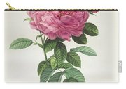 Rosa Gallica Flore Giganteo Carry-all Pouch by Pierre Joseph Redoute