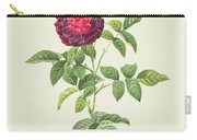 Rosa Gallica Gueriniana Carry-all Pouch