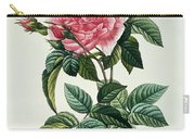 Rosa Gallica Regalis Carry-all Pouch by Pierre Joseph Redoute