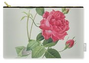 Rosa Indica Cruenta Carry-all Pouch by Pierre Joseph Redoute