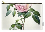 Rosa Indica Fragrans Carry-all Pouch by Pierre Joseph Redoute