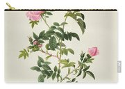Rosa Sepium Flore Submultiplici Carry-all Pouch