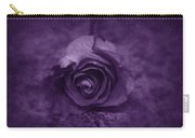 Rose - Purple Carry-all Pouch