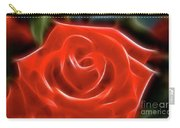 Rose-5845-fractal Carry-all Pouch
